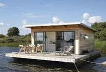 Houseboats, Airstreams, Bus & Hobbit homes: Home, Happiness & Cake