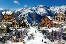 DIY - Miniature Villages / Making your own Miniature or Christmas Village with many tutorials