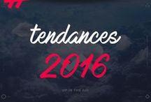 Tendances 2016 / L'agence123, agence digitale située à Paris (15ème arrondissement) présente ici son benchmarking pour 2016  concernant les tendances du web à suivre : one page, menu burger, associations de couleurs, responsive design, application mobile ...