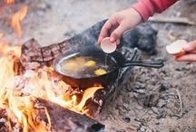 Campfire Cooking / Get inspired for your next trip with easy recipes that turn your campfire into a working stove.