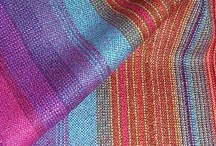 Bambu Yarn Kits / Bambu is the #1 regenerated renewable fiber that's so silky soft and drapeable you wouldn't ever guess that it is in reality a rayon-made yarn.  Gorgeous vibrant colors that love to be woven into scarves, shawls, baby blankets, tea towels and more!