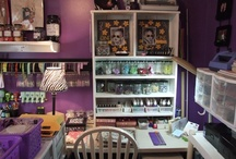 LETS get ORGANIZED / Scrapbook Rooms, Craft Rooms, Mom Caves, Dad Caves, Offices, Garages, & other Organization ideas.