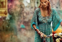 bohemian clothing and loves / hippie chic fashion, colors and home goods with feminine appeal