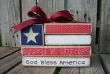 4th of July / Celebrate America with these fun crafts, recipes and more. / by SensiblySara