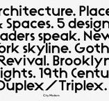 Font & Typeface Inspiration / The best fonts, the most beautiful typefaces, the most interesting letterforms.