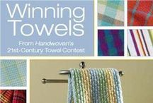 Winning Towels  / These Winning Towel Designs on Four Shafts will keep you weaving all year long.  Join this Kit-of-the-Month Club and receive Free Shipping on each club kit.
