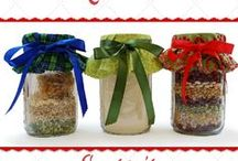 Homemade Food Gifts / As families try to save money and make time to do things together over the holidays, homemade (healthy!) food gifts may be a great idea for giving. Check these out! ~Alice Henneman, registered dietitian and University of Nebraska-Lincoln Extension Educator