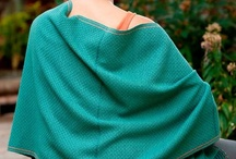 Shawl Kits We Love / Who doesn't love to feel the warmth and luxury of a natural fiber shawl wrapped around their shoulders and arms to ward off the chill.  Whether you give as a gift or create one for yourself you are going to love the gift of a Cotton Clouds' shawl!