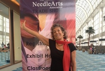 TNNA 2013 Long Beach, CA / The National Needlework Association retail trade show featuring yarns for knitting, crochet and weaving is a great place for Cotton Clouds to find new products for our website, www.cottonclouds.com .  Here's what I found!