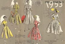 Vintage Fashion / Fashion from Time Gone By Past Years.