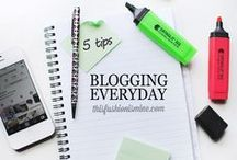 Writing & Blogging Tips / Tips for writers and bloggers. How to start a blog, build a blog. Social media tips. Everything that goes along with both.  / by Christina Boyer