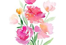 Watercolor / Inspirations and how-to's for watercolor!