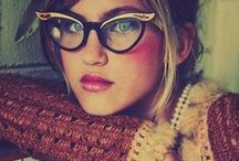 Four eyes / glasses vintage and otherwise
