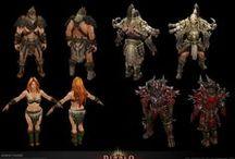 diablo / Art of Diablo :D  ~ https://www.artstation.com/artist/goons ~ http://www.anessasilzer.com/ ~ https://www.artstation.com/artist/3peet ~ https://www.artstation.com/artist/rmarella ~