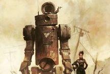 Character design - sci fi robots | mecha