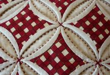 ventanas de la catedral / Técnica de patchwork