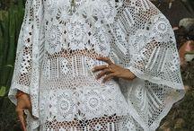 Prendas de vestir en crochet / Vestidos, faldas, blusas y salidas de baño hechos en crochet