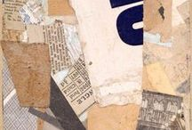 Kurt Schwitters / Amazing collages from the artist Kurt Schwitters