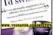 Anew Platinum | Avon Skincare 60 and Over (PurpleJar) / Avon Anew Platinum Skin Care: Helps target advanced signs of Aging. The most advanced signs of aging include neck sagging, deep wrinkles, lip lines, neck wrinkles, loss of color and extreme dryness. Anew Platinum targets these advanced signs of aging for visibly younger looking skin. Shop online at www.youravon.com/my1724 and switch your skin-care today!! Look here for all the latest news, sales and video updates!!