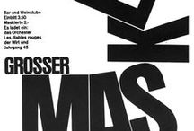 Emil Ruder / The work of Emil Ruder, known for his posters, typography, and graphic design.
