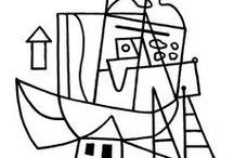 Stuart Davis / Stuart Davis paintings, drawings, and sketches.
