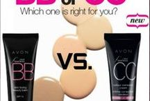 Avon BB and CC Cream / With summer approaching you want a foundation that is not so heavy.. Avon has foundation cream (BB or CC) come here to find the sale's and what new. For only $10 Shop Avon BB & CC cream online at www.youravon.com/my1724 or by clicking on the pins below to see if BB or CC cream is on sale