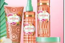 mark. By Avon Havana Sol / Limited Edition set from mark. by Avon. Eascape to Havana instantly by way of our bath + body scents. Vibrant blend of freshly cut papaya, deep Cuban orchid and warm velvet woods. Shop now by going to www.youravon.com/my1724 or by clicking the pins belows.