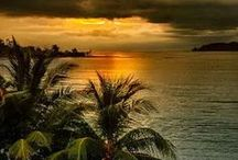 sunsets / Beautiful sunsets ......