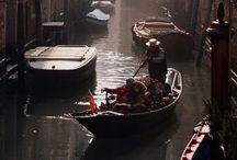 I love  Venecia and Italia