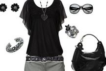 Fashionable Blacks, Grays, & Jeans / by Darragh Handshoe