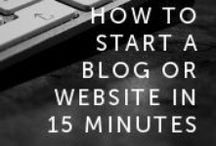 blog tips / Tips for blogging  / by My Life On The Divide