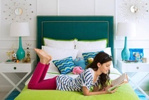 Teen/Tween Stylish Spaces / Teen and tween girls like to gather in their rooms with their friends and they care about style. Give them a space to truly express themselves!