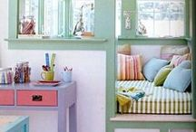 Cozy Corners for Kids / You don't need a lot of room or a lot of money to create a YES space...a corner will do