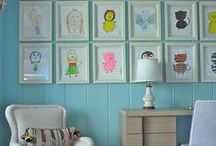 Art & Wall Decor for Kids / Add fun pops of color in your children's spaces
