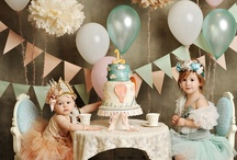 Kid's Party Time / I think all kid's birthday parties are more special when they are held at home. Keep it simple or go over the top - just make a memory!