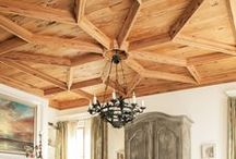 Ceilings Worth Looking Up / Ceilings are your 5th wall! Make them count like in some of these fun rooms
