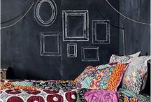 Chalkboard Creativity / Use chalkboard paint on more than just a wall!
