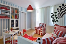 lnviting Kid's Play Spaces / Play rooms should invite imagination and exploration. Children learn through play so entice them to play wholeheartedly in a space designed just for them!