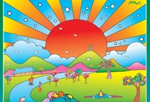Art - Peter Max / by Beth Mills Foster
