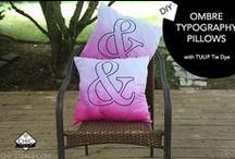 Pillows / DIY pillows