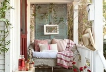 My obsession with porches / by Judy Schulz