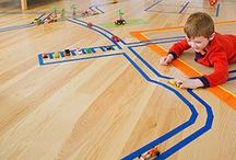 Imaginative Indoor Fun / Rainy days and the long months of winter keep kids energy bottled up in the house. Here are some great ideas for inside play that will make you and your kids happy!
