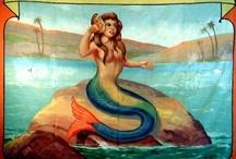 Mermaids, Mermen and Mantees / by Pattie Burns