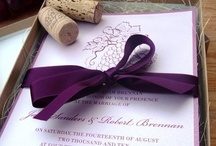 Wedding Stationary / by Holly Ellison