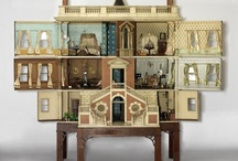 My Dollhouse Addiction / I love beautiful and handmade dollhouses, anything miniature! With 5 kids and a business to run I don't have time to build one myself so this is where I dream.