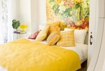 Say YES! to Yellow / Yellow is a happy color! It is also the best color to put in an office area to help with memory retention