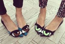 Foot Romance / Those feet-sies are loving them some shoes / by Janelle Knihnitski