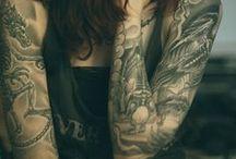 tattoos / by Nicole Klein