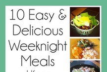 {Quick, Easy Meals} / For busy schedules.