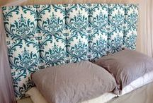 DIY headboard  / by My Life On The Divide